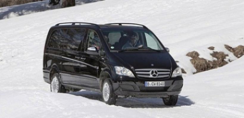 Mercedes Vito y Viano con 4Matic y nuevos acabados