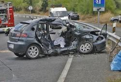306 fallecidos en accidente de tráfico en el primer trimestre del año