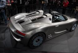 918 Spyder, un descapotable híbrido enchufable según Porsche