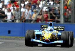 Accidente de Jarno Trulli en el GP de Inglaterra en 2004