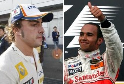 Al final, Hamilton volvió a superar a Alonso en Australia
