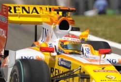 Alonso frustrado con su Renault R29
