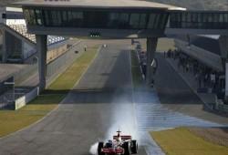 Alonso y Hamilton juntos en Jerez