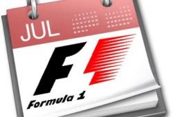 Así podría quedar el calendario de la Fórmula 1 en 2011