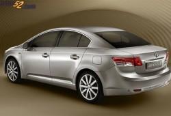 Así será el Nuevo Toyota Avensis que comenzará a venderse a principios de 2009.