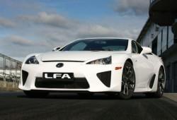 Así suena el Lexus LFA