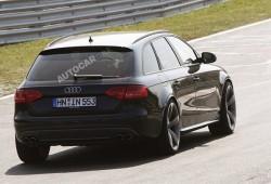 Audi RS4 pillado durante pruebas en Nürburgring