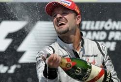 Barrichello: Quisiera que este momento fuera para siempre