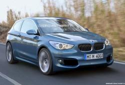 BMW compartirá su plataforma de tracción delantera.