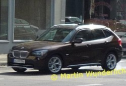 BMW X1, fotos espía