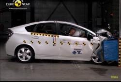Cinco estrellas para el Toyota Prius y el Honda Insight.