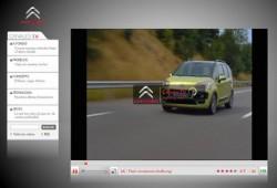 Citroën y su canal de televisión en Internet