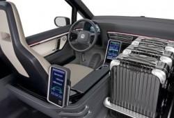 Con el Milano Concept VW imagina los taxis del futuro.