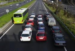 Cortar el tráfico de la A-3 para demostrar que cabe un carril bus