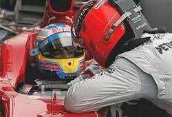 Definitivamente, Alonso no es Schumacher.