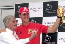 Ecclestone sueña con el regreso de Schumacher