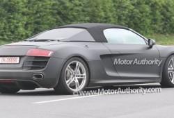 El Audi R8 Spider cazado sin camuflaje