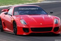 El Ferrari 599 GTO será presentado en Abril.