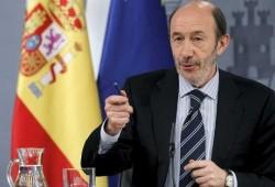 El límite a 110 km/h no afectará al carné por puntos, según Rubalcaba