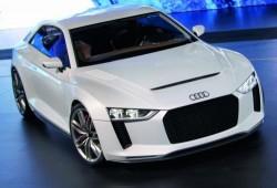 El nuevo Audi Quattro Concept se encuentra con su antecesor