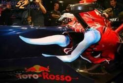 El nuevo Toro Rosso, listo para su debut