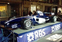 El RBS y Williams. La crisis también golpea a la Formula 1