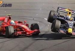 Este año habrá mas accidentes en la Formula 1