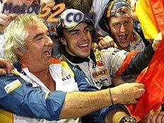 Fantástico triunfo de Alonso
