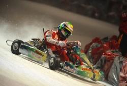 Felipe Massa comenzó a pilotar un Karting en Sao Paulo