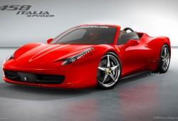 Ferrari 458 Italia Spyder, será así?