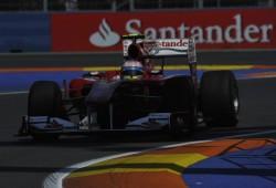 Ferrari con nuevo difusor en Spa