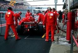 Ferrari preocupado con su monoplaza