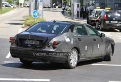 Fotos espía del Mercedes Clase S 2013