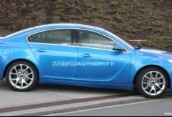 Fotos espía del Opel Insignia OPC