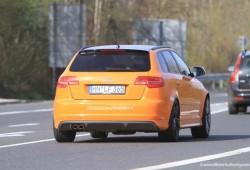 Fotos espías revelan que el Audi RS3 sigue en carpeta.