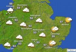 GP de Gran Bretaña: pronóstico meteorológico