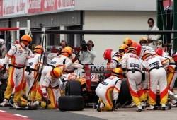 GP de Hungría: cargas de combustible