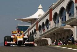 GP de Turquía: En el primer libre, el más rápido fue Rosberg