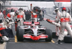 GP de Turquía. La segunda sesión de libres fue para Heikki Kovalainen