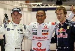 GP Singapur: Clasificación: Pole para Hamilton