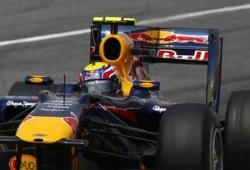 GP Singapur, Libres 1:  Webber al frente