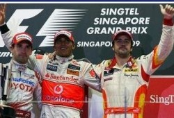 GP Singapur: Victoria para Lewis Hamilton, Alonso tercero