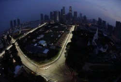 Grosjean emula a Piquet en Singapur