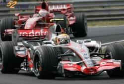 Hamilton dominó los entrenamientos en el segundo dia en Monza