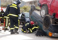 Hoja de rescate para reducir el tiempo de salvamento en caso de accidente