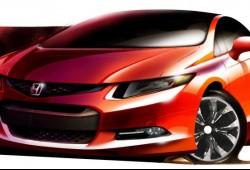 Honda muestra un boceto oficial del Civic 2012