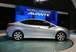 Hyundai elantra 2011 prepara su estreno en el Salón de Los Ángeles