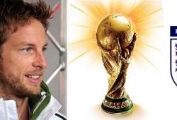 Jenson Button apoya la candidatura de Inglaterra para el Mundial de la FIFA 2018