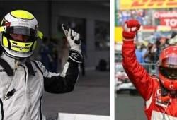 Jenson Button puede llegar a batir el récord de Schumacher