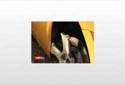 Karim Benzema daña un Lamborghini Gallardo.